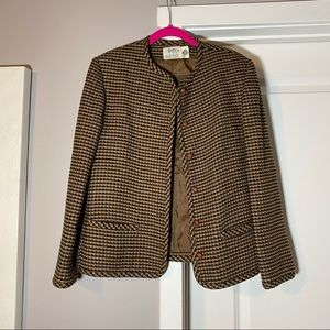Hooper Associates Vintage Wool Jacket, Size 10
